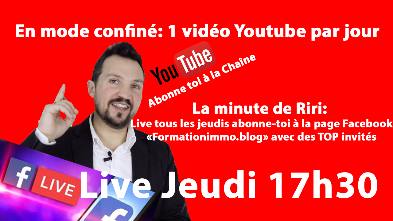 Live Facebook en mode confiné