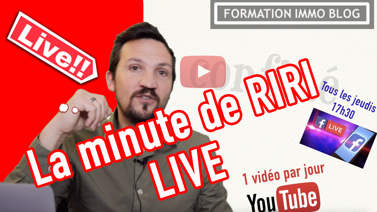La minute de Riri les lives
