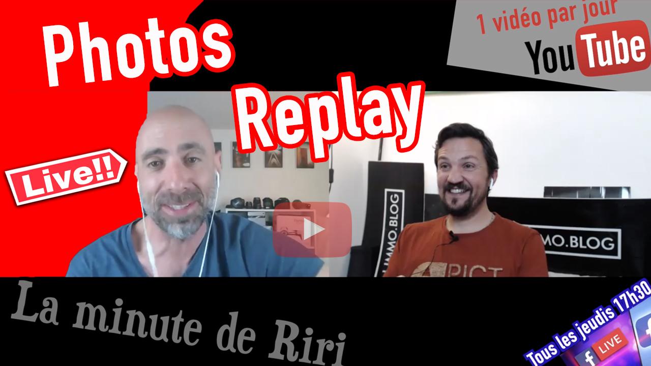 Replay «La minute de RIRI» photo