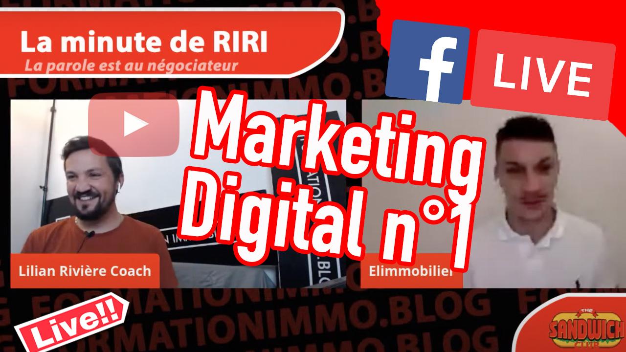 La minute de Riri «Marketing Digital»