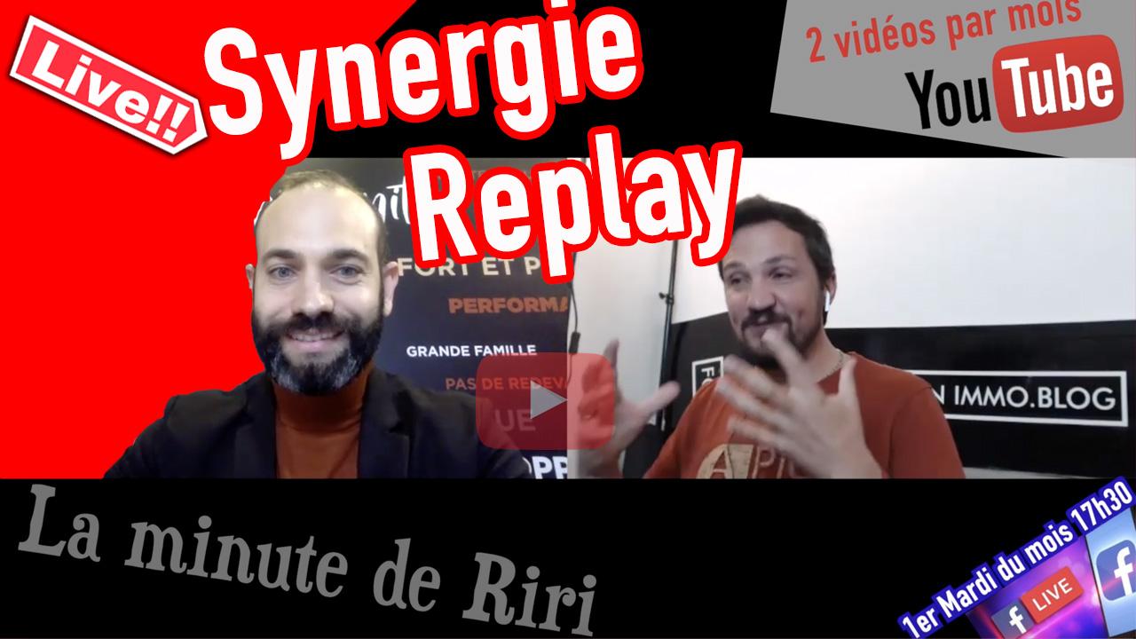 Replay La minute de Riri «Synergie» et «Mindset»