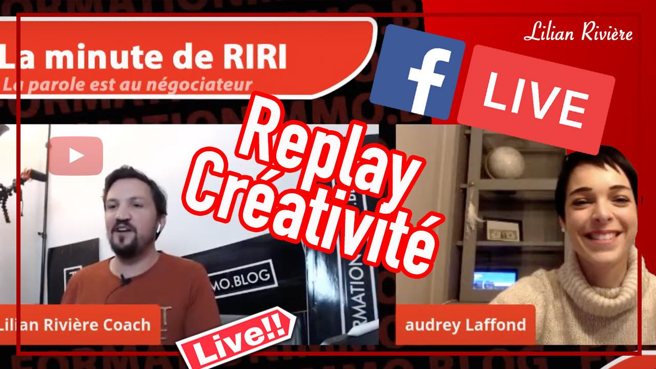 La minute de RIRI «créativité»